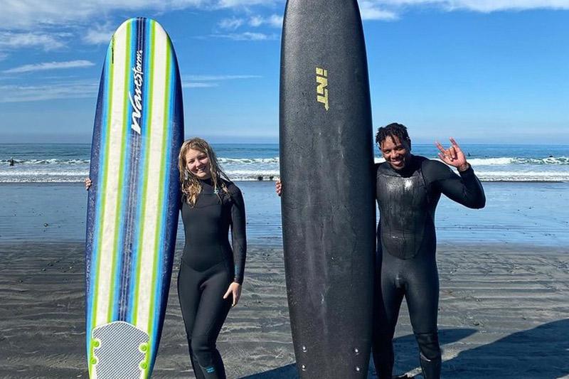 Ryland Rubens Semi - Private Surf Lesson